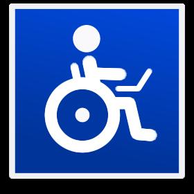 Wheelchair laptop